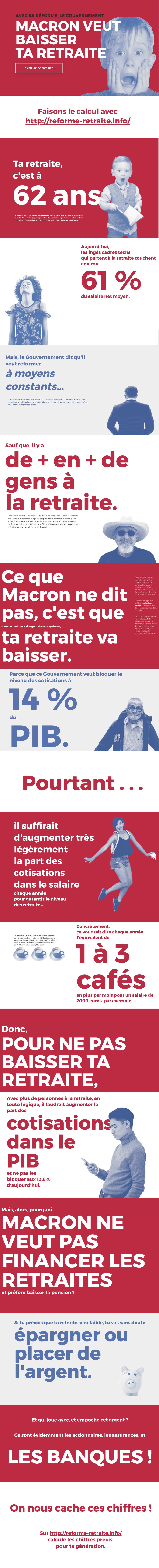 Infographir reforme retraite info