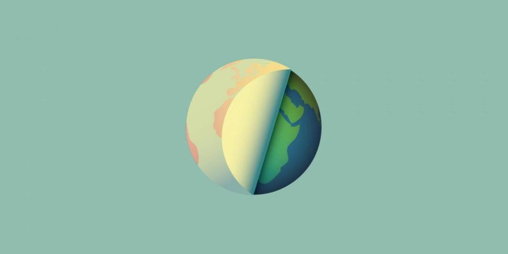 La Planete terre fait peau neuve.