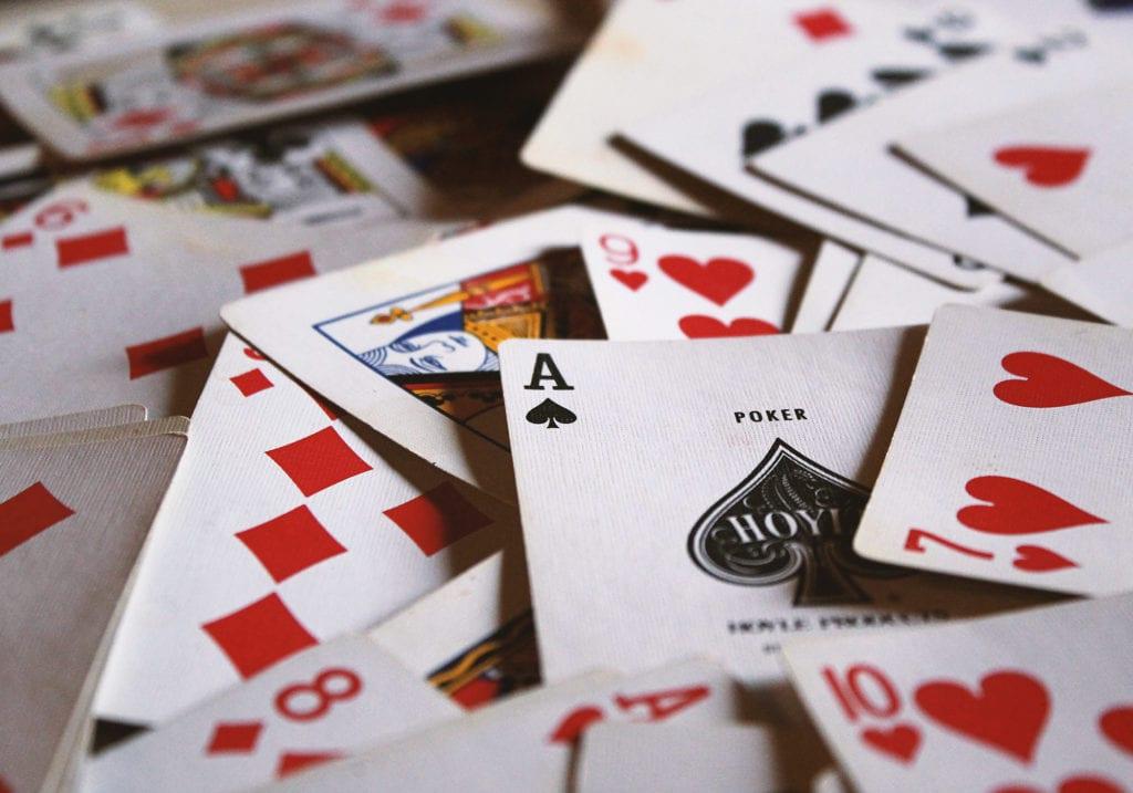 Jeu de cartes poker