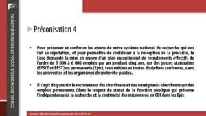 le contexte - saisine lppr - 24 juin 2020 - 01